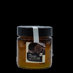miel con trufa