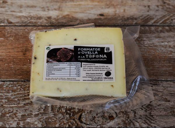 queso oveja tòfona de la conca