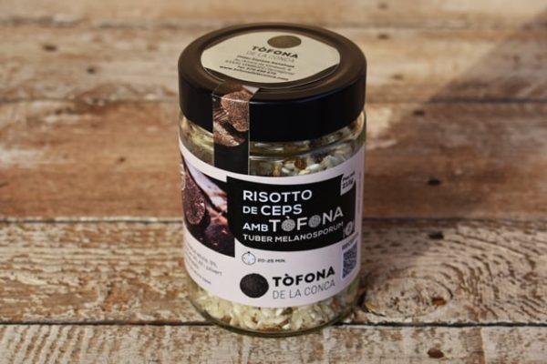 risotto tofona de la conca